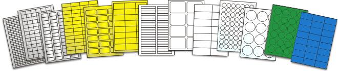 Etiketten auf Bogen - Direkt vom Produzenten