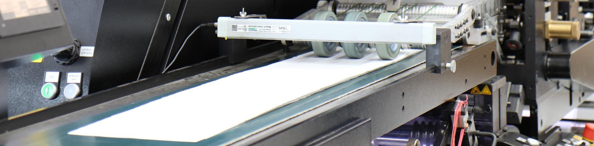 Etiketten auf Bogen aus eigener Produktion
