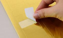 Bestellen Sie gold metallic Etiketten für Büro und Office Management