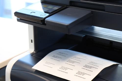 Sortiment: Papieretiketten auf Bogen