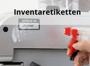 Bestellen Sie Polyesteretiketten für Inventar & Eigentum