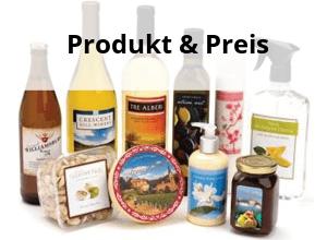 Passende Blattetiketten für Produkte