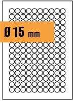 Druckvorlage Etikett rund Ø 015