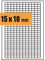 Druckvorlage Etikett rechteckig 015x010 mm