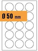 Druckvorlage Etikett rund Ø 050