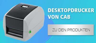 Desktopdrucker der Marke cab
