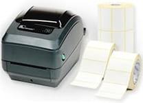 Drucker und Etiketten