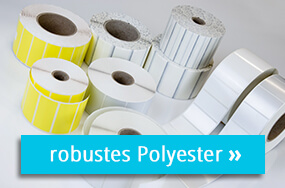 Polyesteretiketten für Ihren Thermotransferdrucker