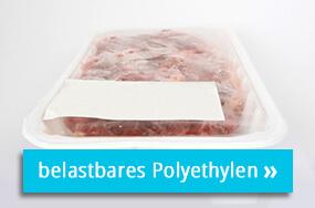 Polyethylenetikett zur LEbensmittelkennzeichnung